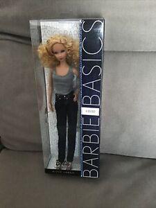 BARBIE  BASICS collector MODELE 03-002 Black label mattel Never Open