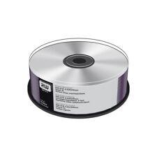 DVD+R Doble Capa 8X MediaRange Silver Thermal Tarrina 25 uds