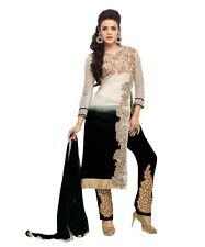Indian Pakistani Anarkali  New Fancy Designer Black Partywear Salwar Kameez Suit
