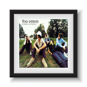 "The Verve - Urban Hymns 12"" Album Cover - Framed 16"" x 16"""