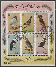v890 Belize/ Vögel   MiNr Block 18 o