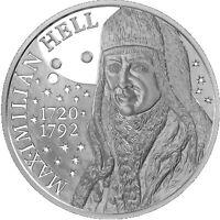 2020,10 Euro,Slowakei, 300. Geburstag  Maximilian Hell , Silber PP/ PROOF