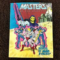 Masters Of The Universe The Ordeal Of Man-E-Faces Mini Comic MOTU 1982