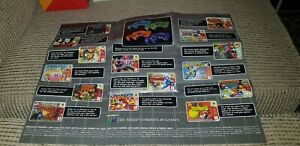 Large N64 / Gameboy Colour, coloured consoles Poster