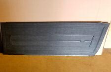 4pc INTERIOR DOOR & REAR SIDE PANEL SET, 1964 CHEVY II NOVA 2dr HT, BLACK 64
