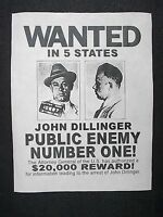 GANGSTER LOT 12 POSTERS CAPONE DILLINGER BABY FACE BONNIE CLYDE BEST EBAY DEAL!