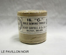 Lot de 6 Bobines de Fil en Lin 3 Brins 500g Henry Campbell & Co Ltd