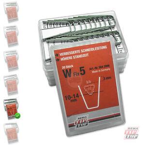 W-FIX 5 Reifenprofil-Messer 10-14 TipTop RUBBER CUT Rillfit Klingen W5 5642896