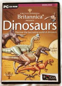 Encyclopaedia Britannica Presents Dinosaurs (PC Multimedia Software)