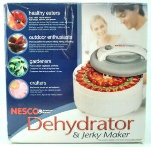 NESCO American Harvest FD-61 -500 Watt Food Dehydrator, Jerky Maker- Works Great