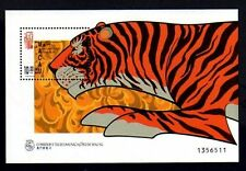 MACAO - 1998 - TIGER - YEAR OF TIGER - NEW YEAR - MINT - MNH S/SHEET!
