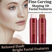 Highlighter Make Up Shimmer Cream Stick Face Highlight Illuminator Glow Bronzer