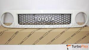 Toyota FJ Cruiser 2007-2014 Trail Teams White Front Grille Genuine 53100-35B20