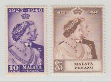 MALAYA PENANG  1948 ROYAL SILVER WEDDING SG 1/2  MNH PERFECT