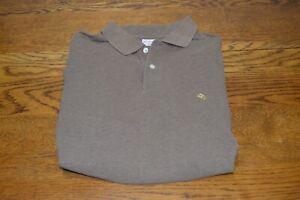 BROOKS BROTHERS Men's Polo Original Fit Medium Brown