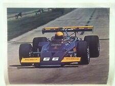 """Mark Donohue 1972 Indy 500 Winner Sunoco Special Reprint 8.5x11"""" Photo"""