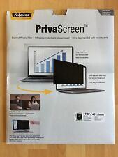 """Fellowes PrivaScreen Blickschutz-Filter, 17 """"    431,8 mm   Neu und unbenutzt"""