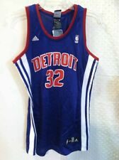 Adidas Women's NBA Jersey Detroit Pistons Hamilton Blue sz L