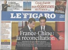 LE FIGARO N°20448 29 AVRIL 2010  FRANCE-CHINE/ FREUD/ ROCHEFORT/ SAINT-SUAIRE