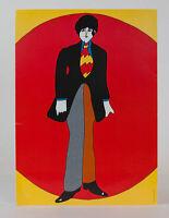 Beatles 1968 Yellow Submarine Giant Postcard Paul McCartney Dealer Lot 10 pcs MT