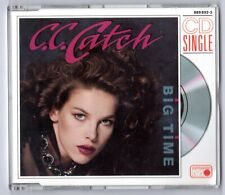C. C. Catch CD-SINGLE 3-Inch BIG TIME Metronome West Germany 2-track NEAR MINT