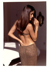 Salma Hayek Breathtaking Sexy Sultry Glamour Pin Up Original Stamped Photo 1998