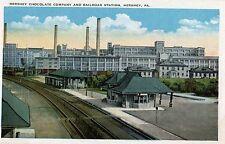 Hershey Chocolate Company & Railroad Station in Hershey PA OLD