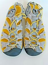 Keen Womens Waterproof Sport Sandals Shoes Yellow gray Size 9 US