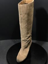 FRANCO SARTO A - OSTERIA  Tan Suede Knee High Women's Boots Size 8.5 M