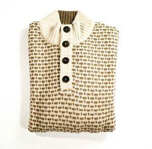 NEW STEFANO RICCI LOGO Sweater CASHMERE  Size XL  Us 54 Eu (M62)