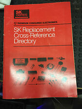 Sk Replacement Directory Reference Guide 1992 Edition / Radio Shop