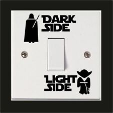 Dark Side Light Side Star Wars Light Switch Decal Sticker For Boys Bedroom Newly