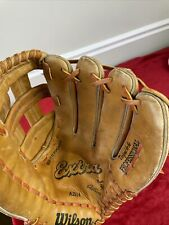 """New listing Wilson Extra Leather A2914 Baseball Softball Right Hand Thrower Glove 12.5"""""""