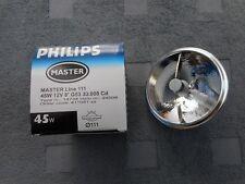 1 St. Philips Halospot 111 12V 45W 8° SPOT  MASTER Line 111 QR111