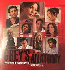 Grey's Anatomy, Vol. 2:  Various Artists (2006) - Import CD Soundtrack