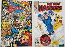 GI) Lot of 2 Marvel The New Warriors Comic Books