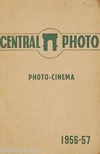 Catalogue Photo et Cinema de Central Photo, 1956-1957 (Fr)