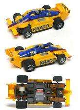 1989 TYCO HO Slot Car Formula One F1 Kraco #18 Michael Andretti Indy F-1 8987 A+