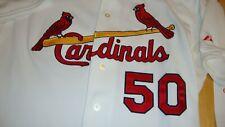 Adam Wainwright 2007 Spring Training Game Used Jersey St. Louis Cardinals COA