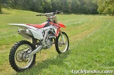 Honda CRF450R 2009 – 2014 Motorcycle Service Manual by Cyclepedia - by Repair...