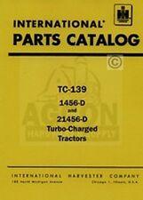 Farmall International 1456 D 21456 Parts Catalog Manual