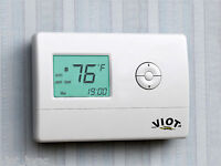 Heating Cooling Heat Pump Thermostat Digital Control HVAC Furnace Energy Saver