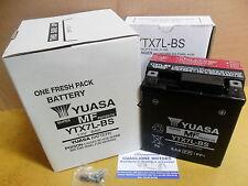 """BATTERIA YUASA YTX7L-BS """"MF"""" PER HONDA SH ie 125 - 150 DAL 2005 AL 2010"""
