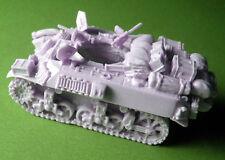 Milicast BB128 1/76 Resin WWII British Stuart Mk.V (M3A3) Turretless Recce Tank