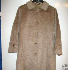 Damen Mantel Wintermantel echt Vintage Lama Robert Dansel beige Kurzmantel 21/42