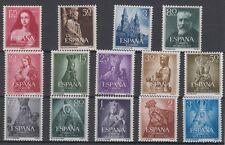 SPAIN - ESPAÑA - YEAR 1954 WITH ALL THE STAMPS MLH