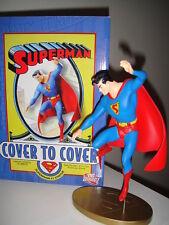 DC DIRECT SUPERMAN COVER TO COVER #1  STATUE- 2006 MIB Maquette FIGURINE FIGURE