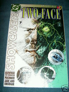 BATMAN KNIGHTFALL Part 13 : SHOWCASE '93  issue 7. RARE. DC.1993. Deathstroke