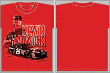 Kevin Harvick Chase Authentics #29 Budweiser Red Tee XL FREE SHIP!!!