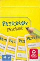 Rewe Hasbro Ass Kartenspiel 2018 – Pictionary Pocket Pocket Game NEUWARE